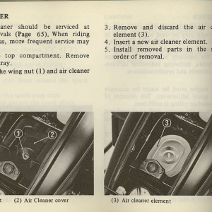 Owners Manual- 1981 GL1100 Interstate Page 72