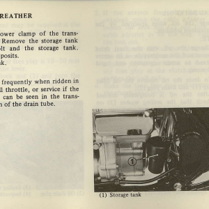 Owners Manual- 1981 GL1100 Interstate Page 73