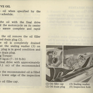 Owners Manual- 1981 GL1100 Interstate Page 74