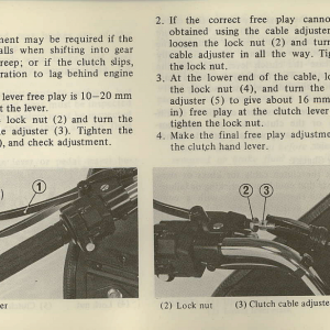 Owners Manual- 1981 GL1100 Interstate Page 75