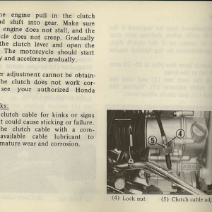 Owners Manual- 1981 GL1100 Interstate Page 76