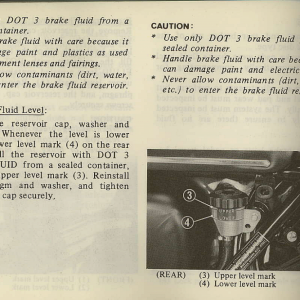 Owners Manual- 1981 GL1100 Interstate Page 78