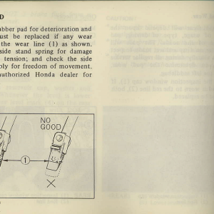 Owners Manual- 1981 GL1100 Interstate Page 80