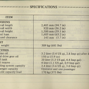 Owners Manual- 1981 GL1100 Interstate Page 92