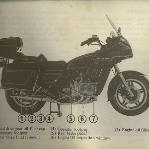 Owners Manual- 1982 GL1100 Interstate Page 13