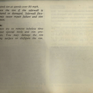 Owners Manual- 1982 GL1100 Interstate Page 7