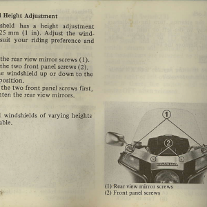 Owners Manual- 1982 GL1100 Interstate Page 24
