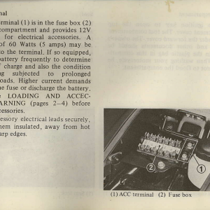 Owners Manual- 1982 GL1100 Interstate Page 30