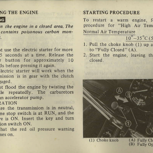 Owners Manual- 1982 GL1100 Interstate Page 39