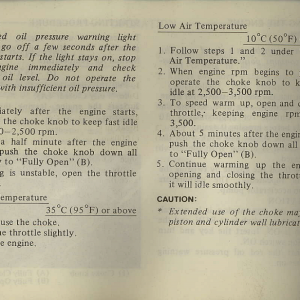 Owners Manual- 1982 GL1100 Interstate Page 40