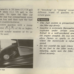 Owners Manual- 1982 GL1100 Interstate Page 32