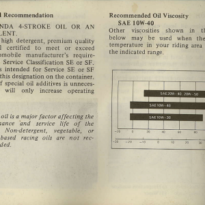 Owners Manual- 1982 GL1100 Interstate Page 34