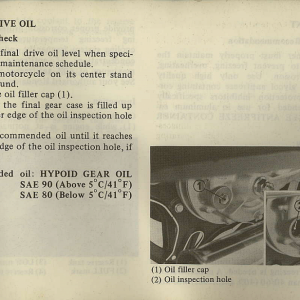 Owners Manual- 1982 GL1100 Interstate Page 35