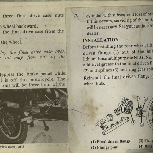 Owners Manual- 1982 GL1100 Interstate Page 52