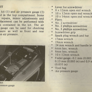 Owners Manual- 1982 GL1100 Interstate Page 47