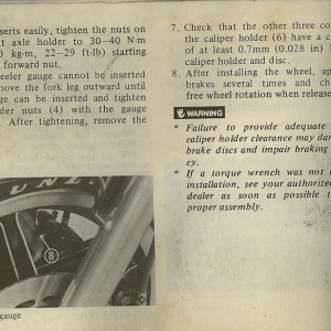 Owners Manual- 1982 GL1100 Interstate Page 50