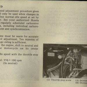 Owners Manual- 1982 GL1100 Interstate Page 64