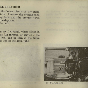 Owners Manual- 1982 GL1100 Interstate Page 66