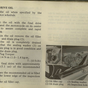Owners Manual- 1982 GL1100 Interstate Page 67