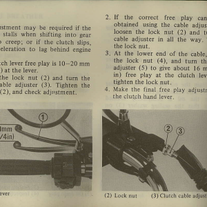 Owners Manual- 1982 GL1100 Interstate Page 68