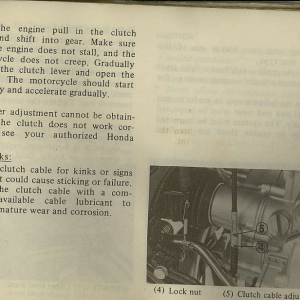 Owners Manual- 1982 GL1100 Interstate Page 69