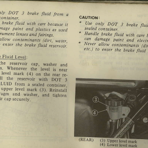 Owners Manual- 1982 GL1100 Interstate Page 71