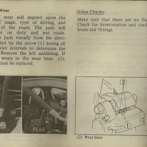 Owners Manual- 1982 GL1100 Interstate Page 72