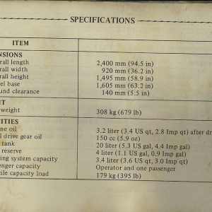 Owners Manual- 1982 GL1100 Interstate Page 83