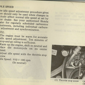 Owners Manual- 1982 GL1100 Standard Page 59