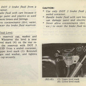 Owners Manual- 1982 GL1100 Standard Page 66