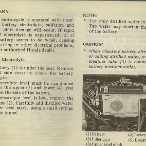 Owners Manual- 1982 GL1100 Standard Page 69