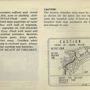 Owners Manual- 1982 GL1100 Standard Page 70