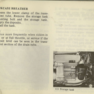 Owners Manual- 1982 GL1100 Standard Page 61
