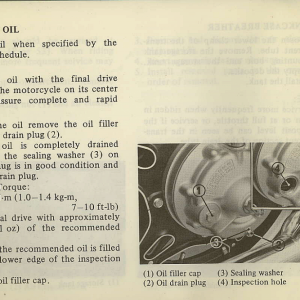 Owners Manual- 1982 GL1100 Standard Page 62