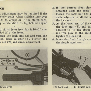 Owners Manual- 1982 GL1100 Standard Page 63