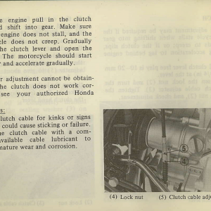 Owners Manual- 1982 GL1100 Standard Page 64