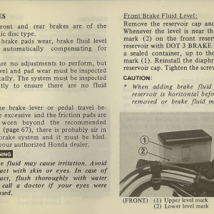 Owners Manual- 1982 GL1100 Standard Page 65