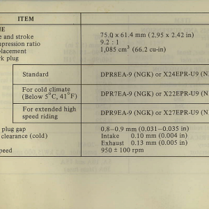 Owners Manual- 1982 GL1100 Standard Page 79
