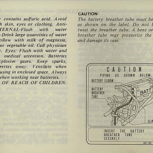 1983 Interstate Owners Manual Page 79