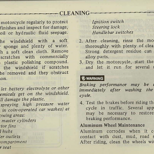 1983 Interstate Owners Manual Page 80