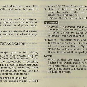 1983 Interstate Owners Manual Page 81