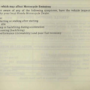 1983 Interstate Owners Manual Page 85