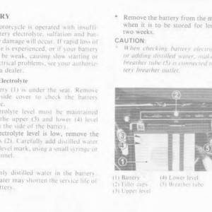 Owners Manual- 1986 GL1200 Interstate Page 77
