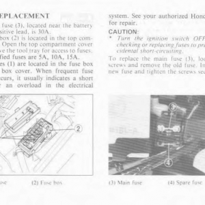 Owners Manual- 1986 GL1200 Interstate Page 79