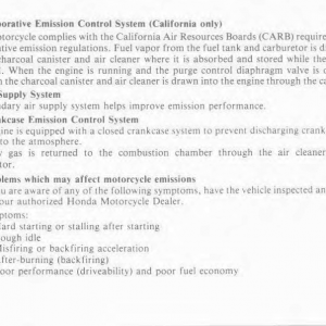 Owners Manual- 1986 GL1200 Interstate Page 92