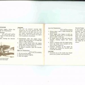 Owners Manual- 1984 GL1200 S-023