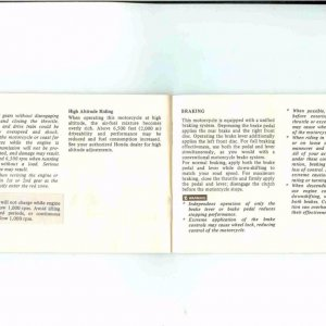 Owners Manual- 1984 GL1200 S-025