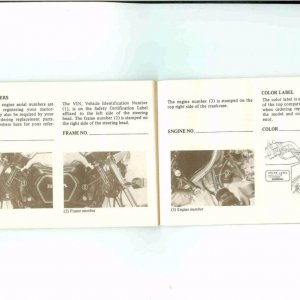 Owners Manual- 1984 GL1200 S-029