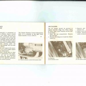 Owners Manual- 1984 GL1200 S-030
