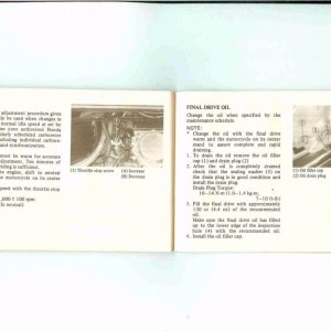 Owners Manual- 1984 GL1200 S-033